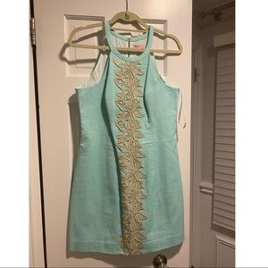Lilly Pulitzer Pearl Shift Dress Size 8